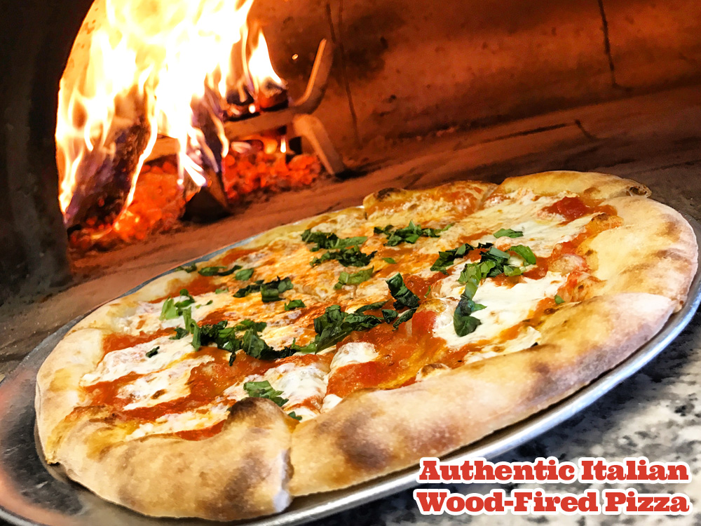Authentic Italian Wood-Fired Pizza