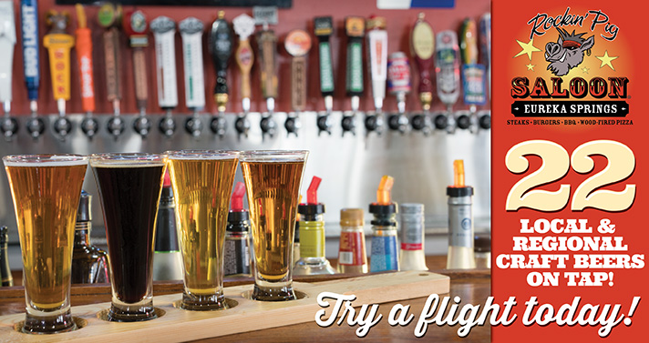 22 Local & Regional Craft Beers On Tap! Try A Flight Today!
